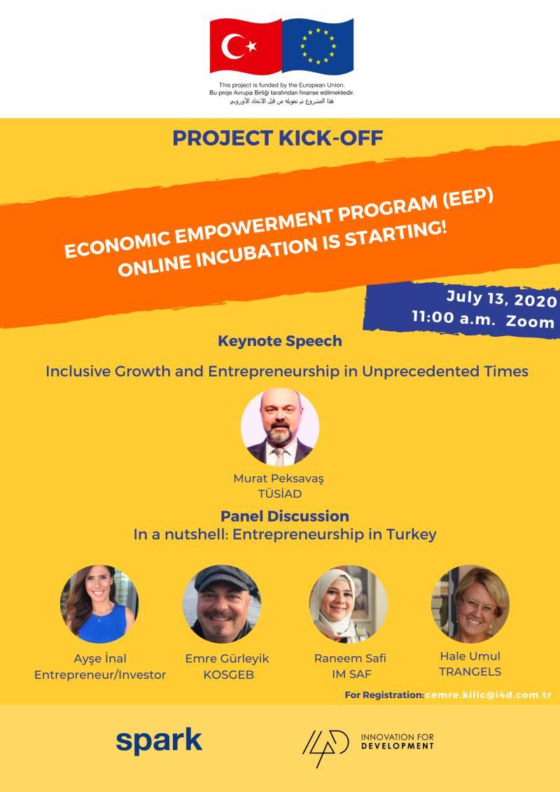 Economic Empowerment Program (EEP) Online Incubation Kickoff meeting